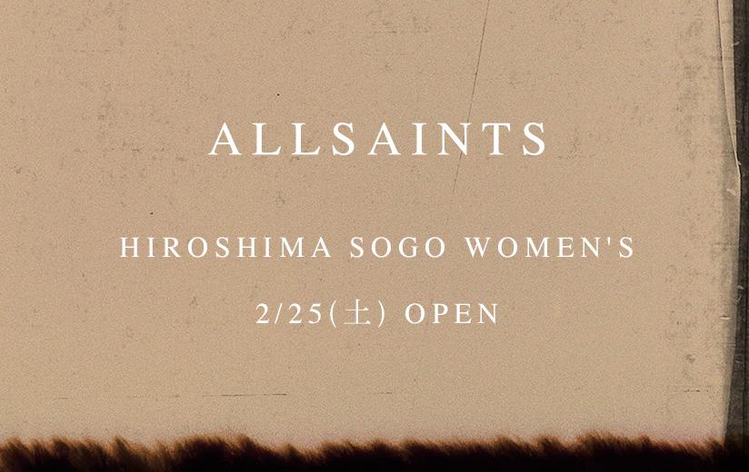 HIROSHIMA SOGO WOMEN'S 2/25(土) OPEN