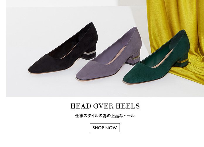 Almond toe pumps with metallic accented block heel in grey, dark green and black variations - Charles & Keith