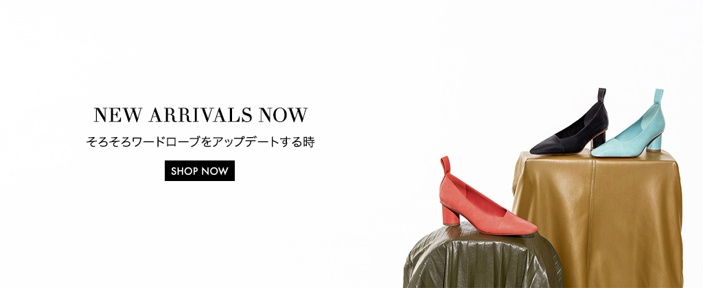 Ladies' asymmetrical pumps in variations of black, green, and orange - Charles & Keith