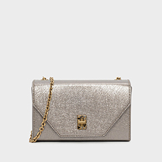 Embellished Turn-Lock Clutch