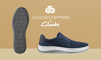 Clarks Cloudsteppers