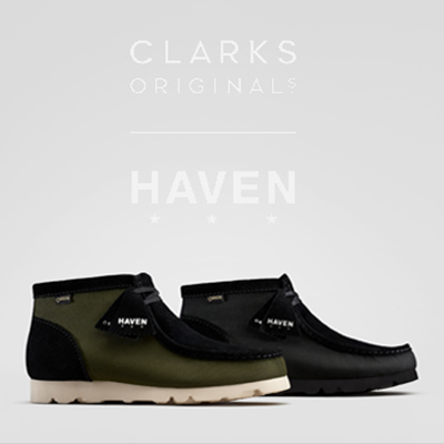 Wallabee Boot Clarks X HAVEN