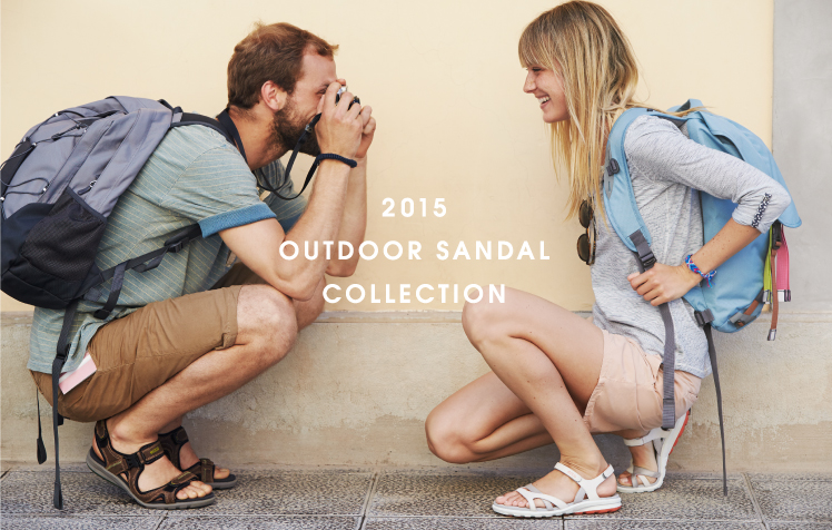 OUTDOOR SANDAL COLLECTION