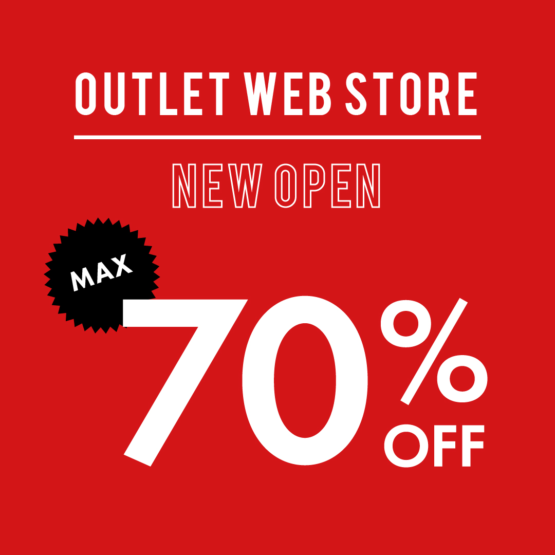 OUTLET WEB STORE OPEN