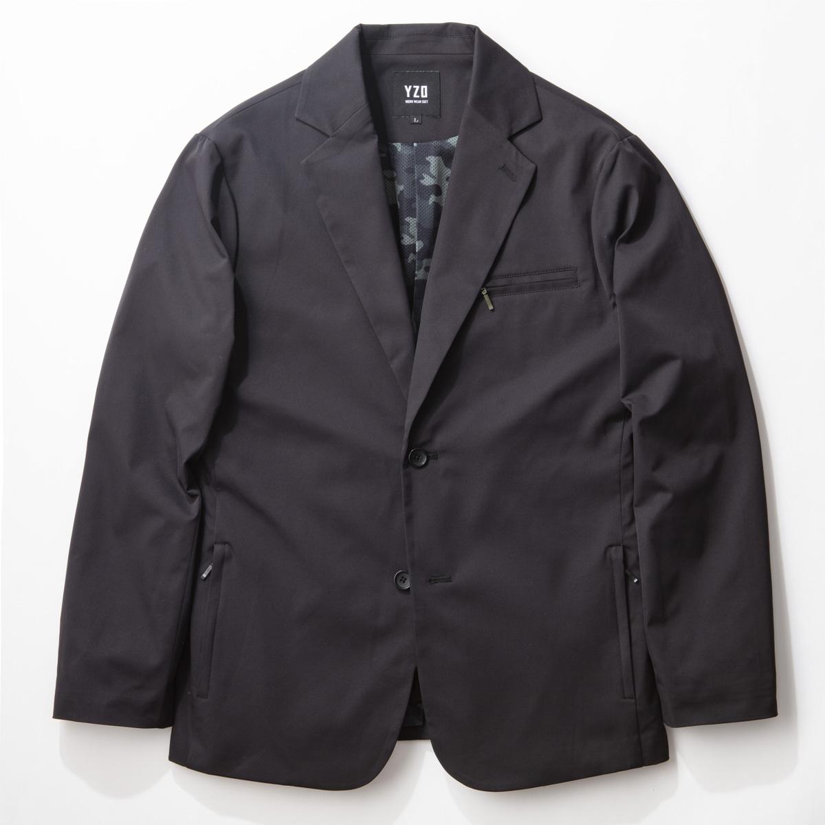 YZO カモフラージュテーラードジャケット