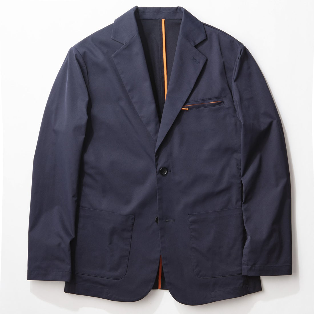 YZO カラーパイピングテーラードジャケット