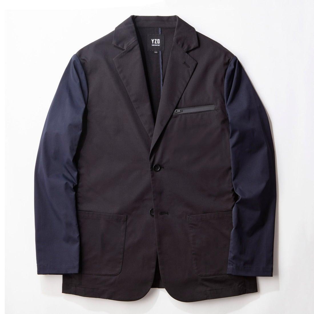 YZO バイカラーテーラードジャケット
