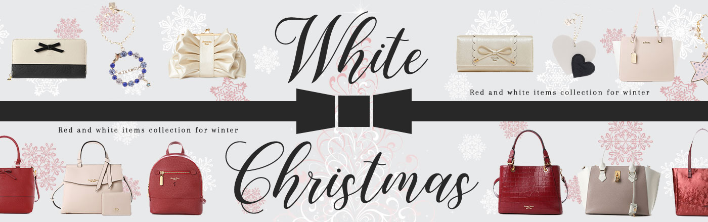 White Christmas クリスマスアイテム