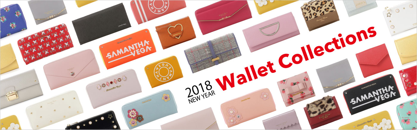 2018 NEW YEAR Wallet Collections