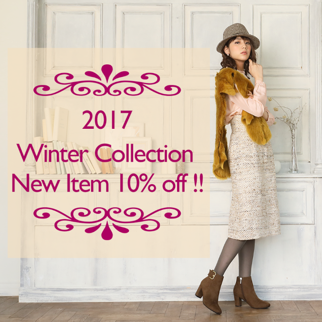 「Winter Collection」新作アイテム入荷!!