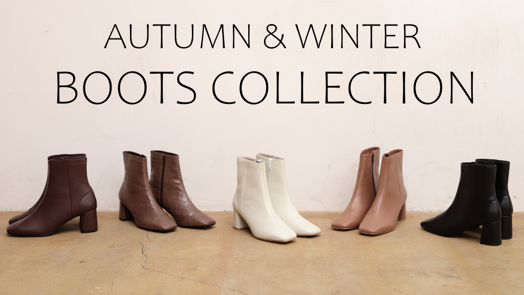 2019 AUTUMN&WINTER BOOTS COLLECTION