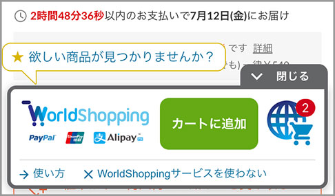 worldshopping BIZイメージ