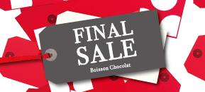 Boisson Chocolat ファイナルセール