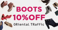 ORiental TRaffic BOOTS 10%OFF