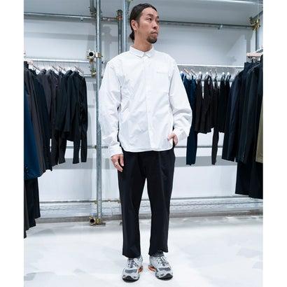 MNT バイカラーシャツ(ホワイト)