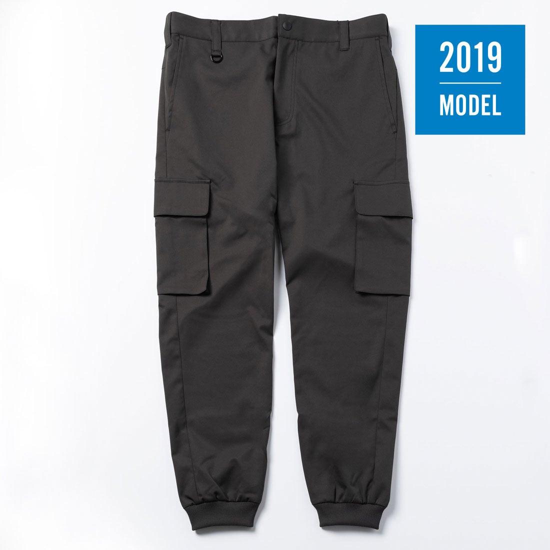 【2019年モデル】メンズ リブカーゴパンツ(スチールグレー)