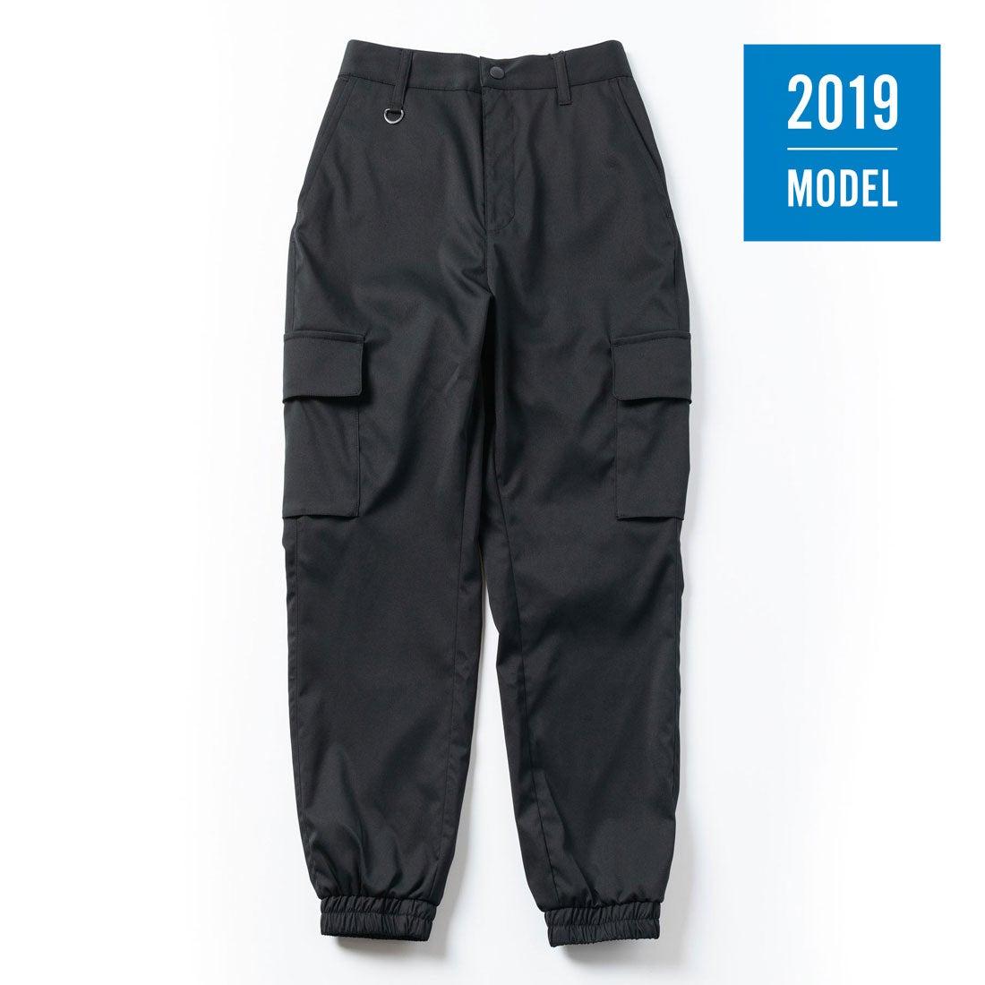 【2019年モデル】レディース ジョガーカーゴパンツ(ジェットブラック)