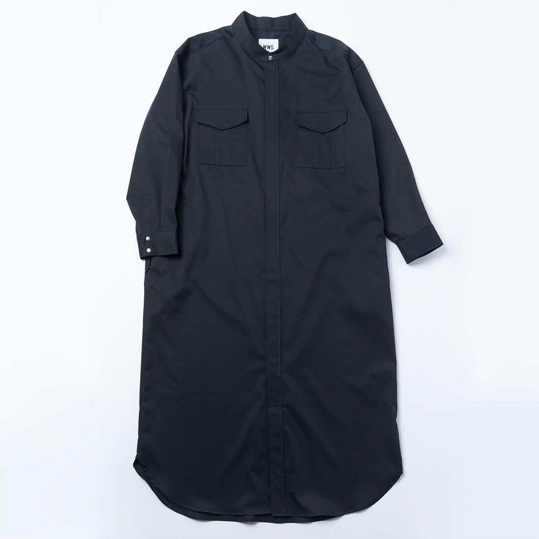 3WAYシャツワンピースコート(オリーブ)