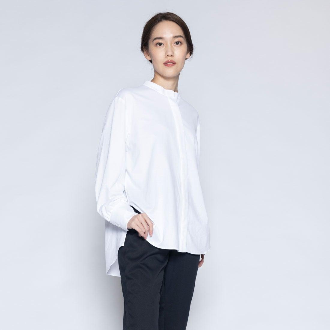 イージースタンドカラーシャツ